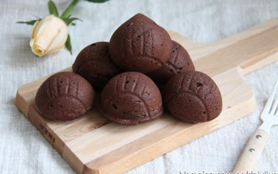 超浓郁巧克力栗子蛋糕