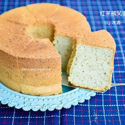 伯爵红茶奶香戚风蛋糕