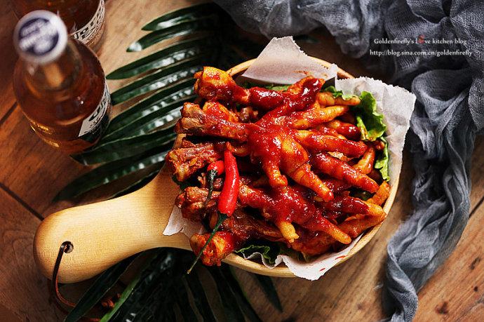 甜辣有劲的夏日开胃料理-韩式辣椒鸡爪