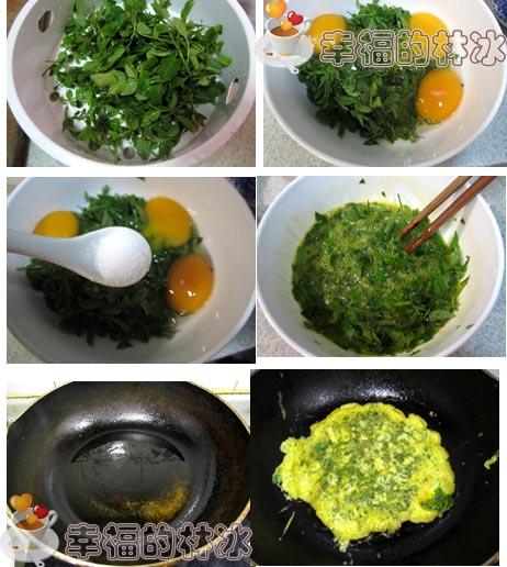 花椒芽摊鸡蛋