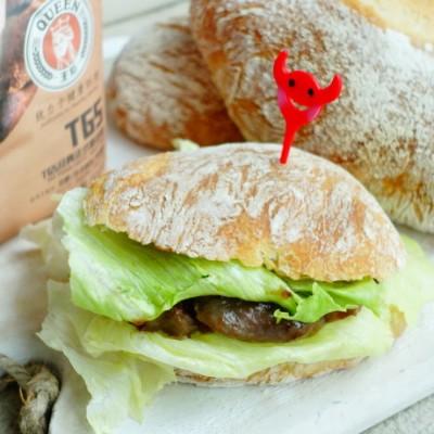 最简单的原料最美味的面包【夏巴塔】82.5%水量ciabatta