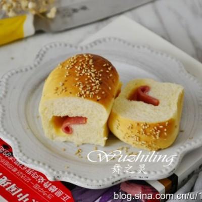【培根芝士面包】香浓松软无添加的面包,还是自己做的好