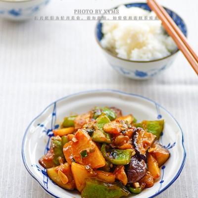 超级经典的下饭素菜——【地三鲜】