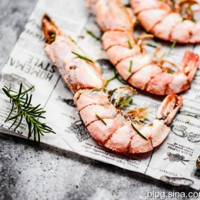 烤箱菜—盐焗阿根廷红虾