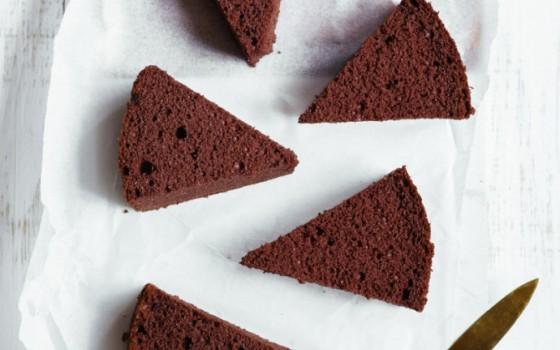 【可可海绵蛋糕】蓬松柔软、容易成功的分蛋可可海绵蛋糕
