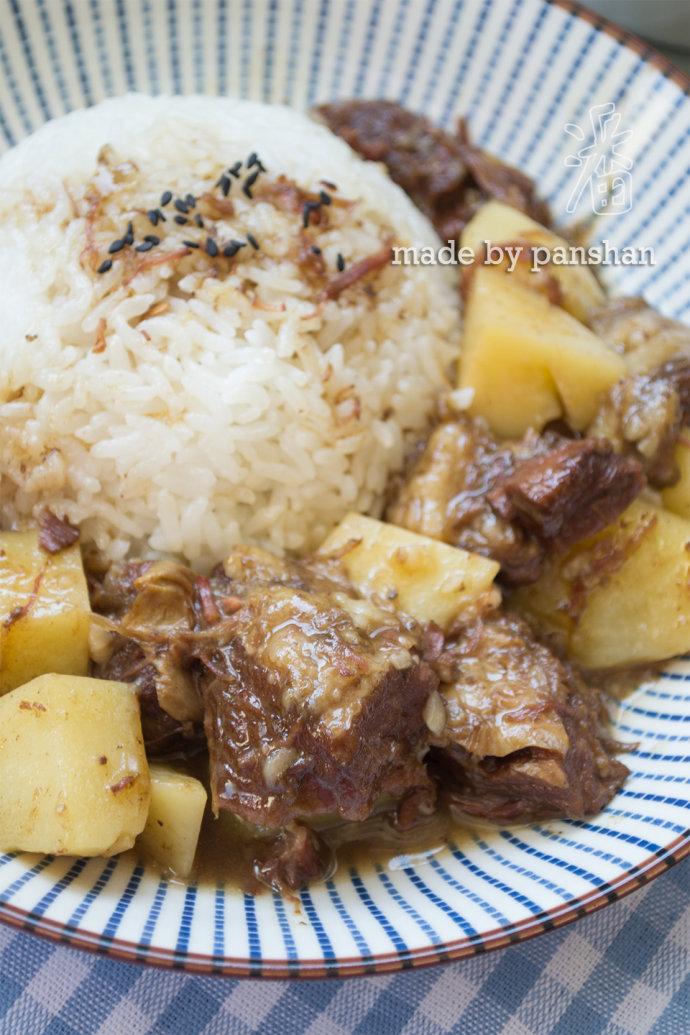超级下饭的土豆炖牛肉