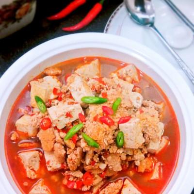 鲅鱼籽烧豆腐