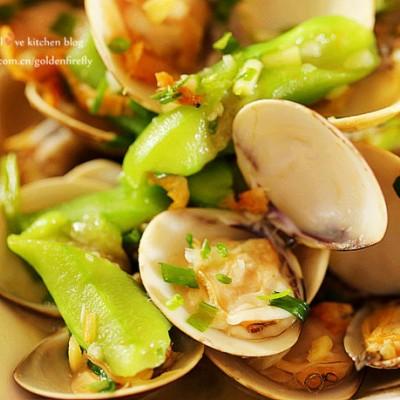 酒香蛤蜊丝瓜