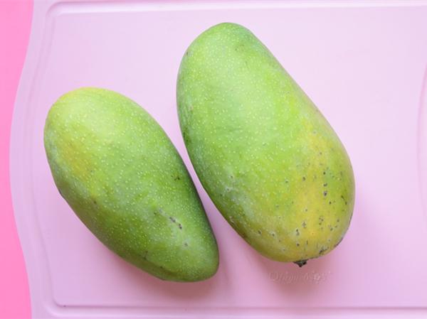 自制纯天然芒果果酱(面包机版)