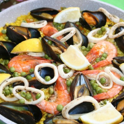 西班牙海鲜饭SeafoodPaella