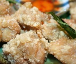 台湾夜市的美食-盐酥鸡