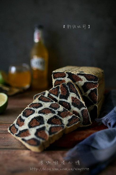 豹纹吐司面包