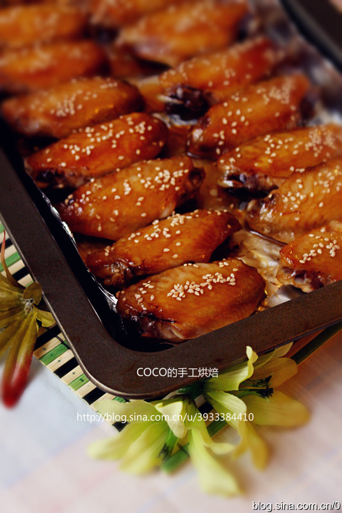 蜜汁蚝油烤鸡翅