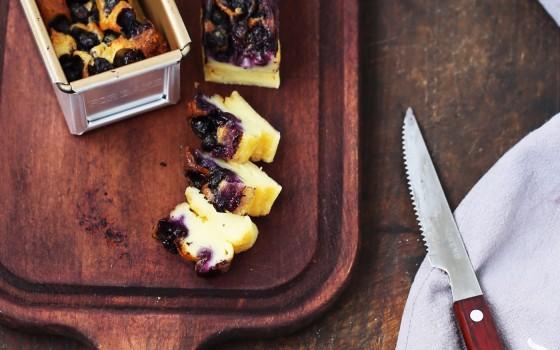 法式甜点—蓝莓克拉芙缇