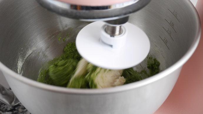 抹茶红豆吐司面包