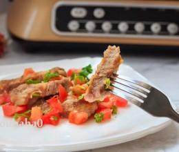 嫩煎梅花肉