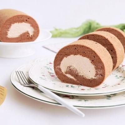可可海鹽奶油蛋糕卷