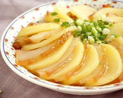 電飯煲食譜-土豆蒸壇子肉