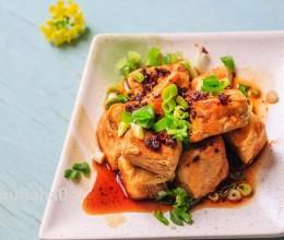 油煎香辣毛豆腐