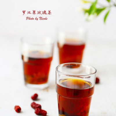 为世界杯助力的爱心茶:罗汉果玫瑰茶