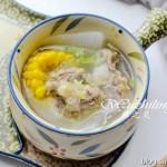 养生玉米排骨汤