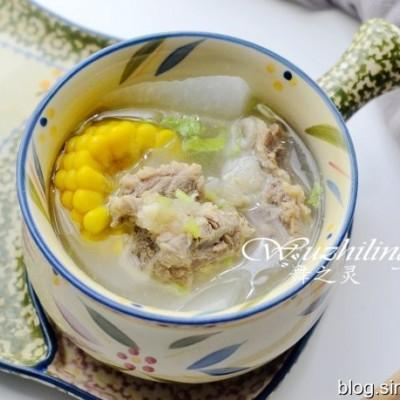 養生玉米排骨湯