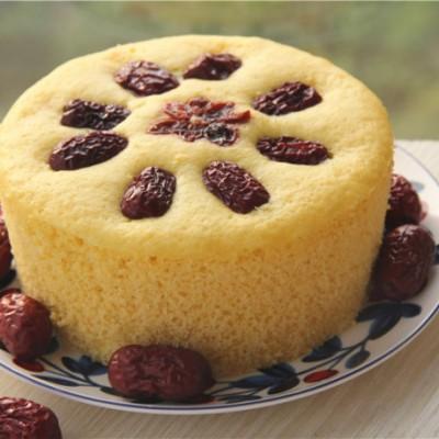 玉米红枣发糕