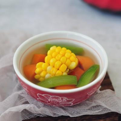 絲瓜玉米蔬菜湯