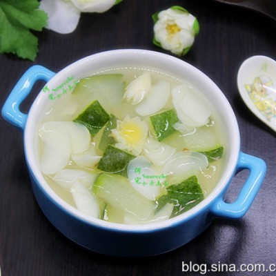 冬瓜百合汤