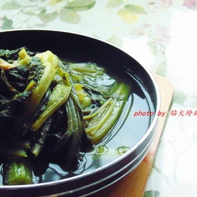 潮汕菜-春菜煲