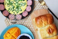 爱心早餐之2018年7月早餐合集