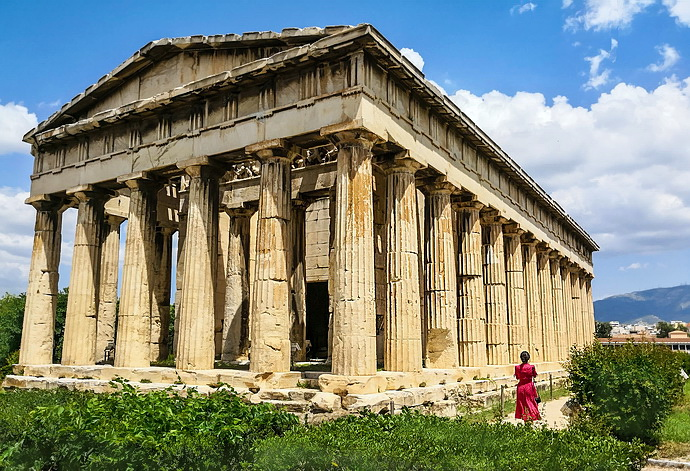 """【希腊】雅典·奥运圣火的""""火种""""为啥都是在这里点燃?"""
