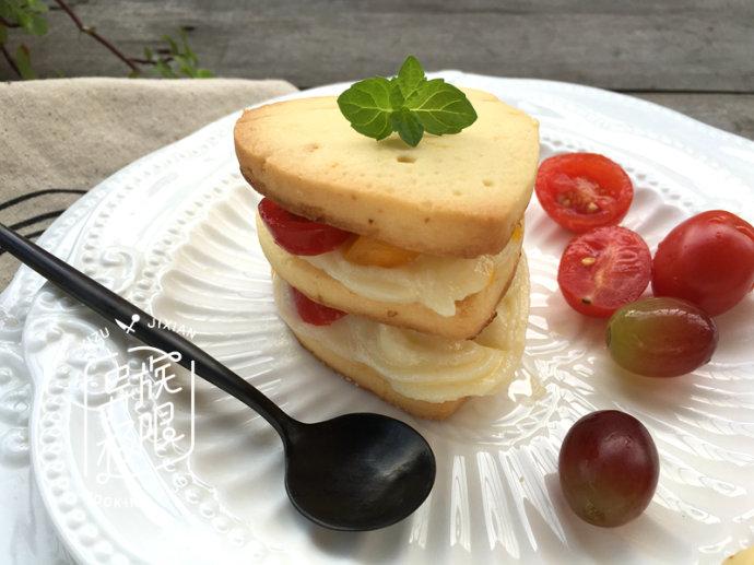 饼干加入这种水果,清新酸爽、下午茶吃几盘都不够