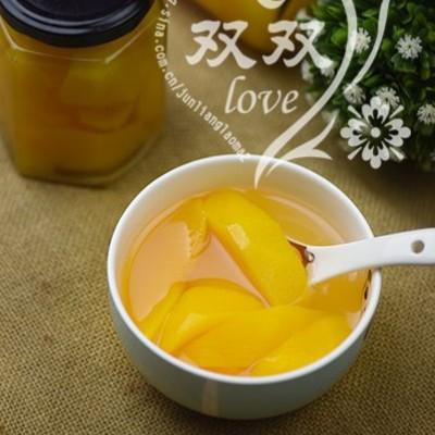 应季水果罐头自制——黄桃罐头