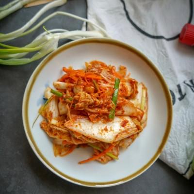 炎热夏季少不了的爽口下饭菜-正宗韩式即食辣白菜