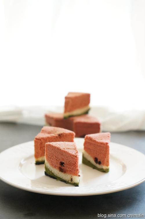 好吃又好玩的西瓜蛋糕【让宝宝爱上吃饭】