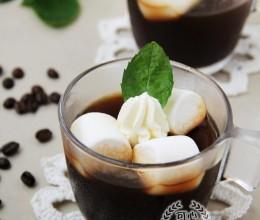 #CoffeeorTea#新奇之旅--棉花糖咖啡果冻