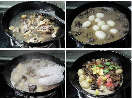 小土豆最浓郁的吃法--腊鸡闷烧小土豆
