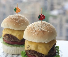 20步详解超过瘾的厚牛排芝士汉堡