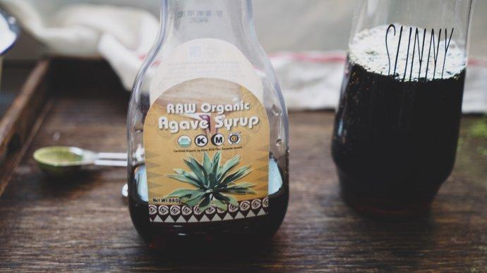 #CoffeeorTea#绿加黑碰撞出来的惊艳味道-抹茶海盐奶盖龙舌兰黑咖啡