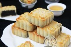 浓香的黑芝麻广式月饼--附【转化糖浆】制作方法
