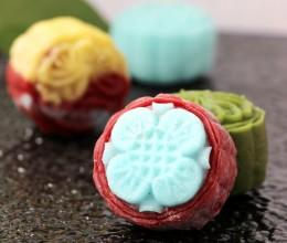 彩色冰皮月饼—超级简单、易学易做