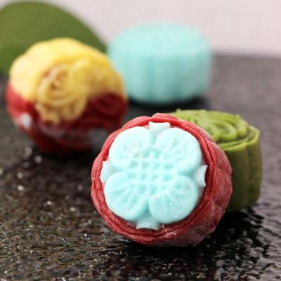 彩色冰皮月餅—超級簡單、易學易做