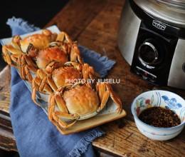 中秋家宴清蒸螃蟹最鲜美,蒸法有讲究