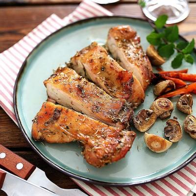迷迭香烤鸡腿:方便快捷零失败的美味烤箱菜