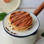 早餐桌上必不可少的软香松饼
