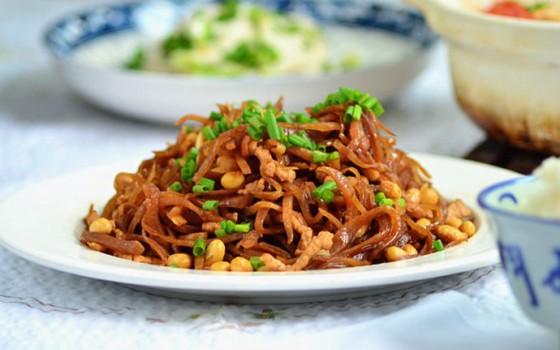 极简又美味的炒咸菜,吃出儿时的味道