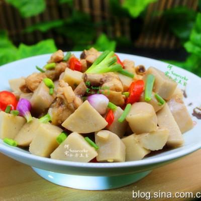 《中餐廳2》王俊凱這樣做的芋兒雞,辣而不燥,軟糯回甜,很好吃