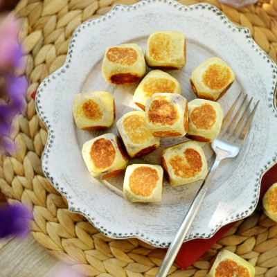 仙豆糕---不用烤箱就能做的网红小点心