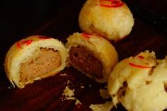 酥到掉渣的小鲜肉【蟹粉鲜肉月饼】(大包酥烫面法)